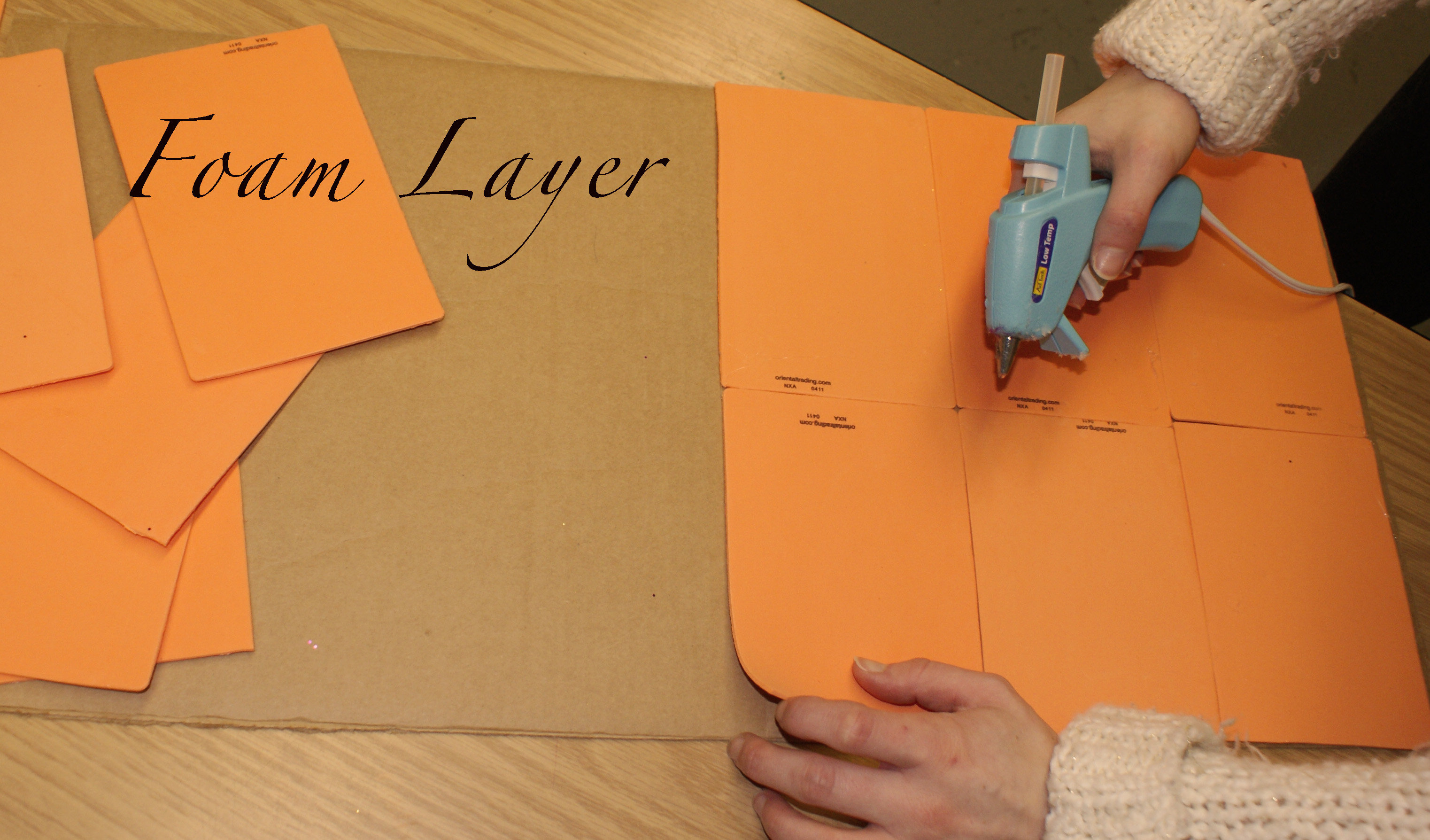 how to make a pinboard with cardboard