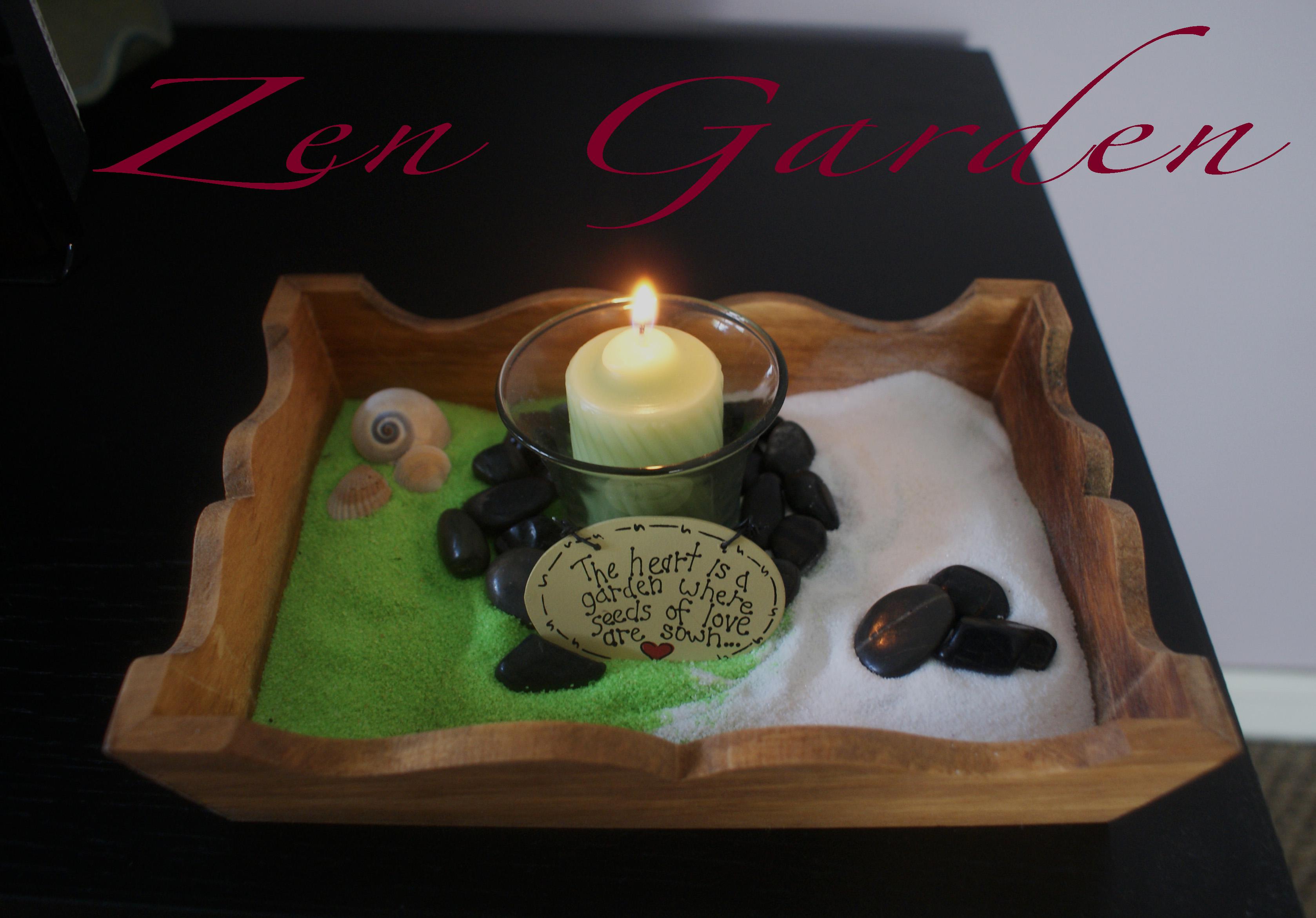 DIY Zen Garden
