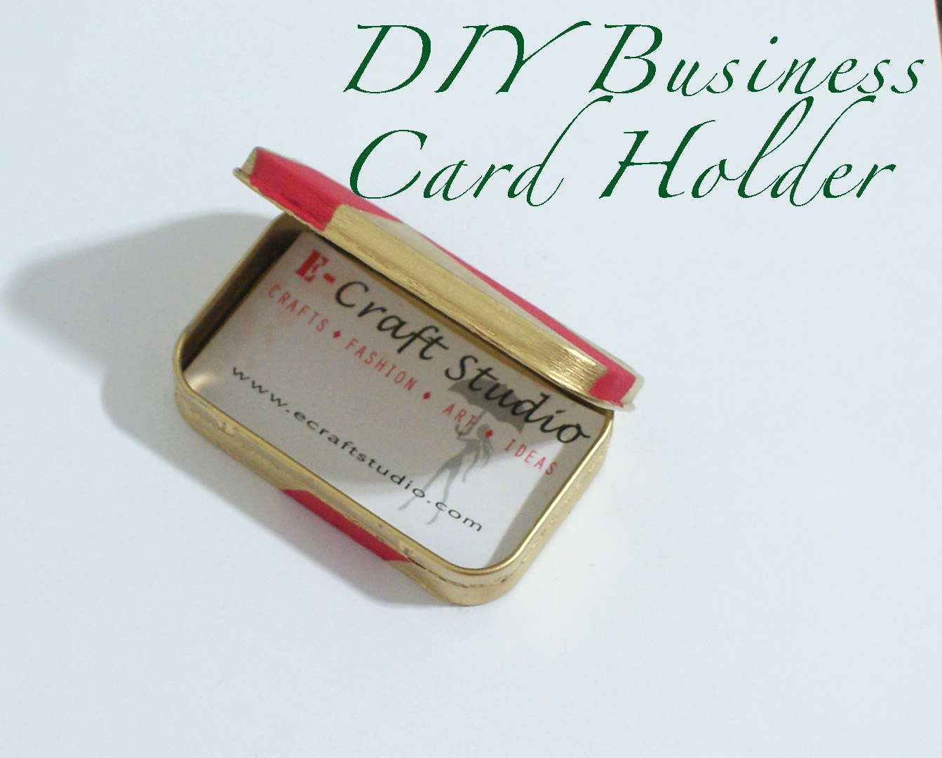 DIY Business Card Holder |